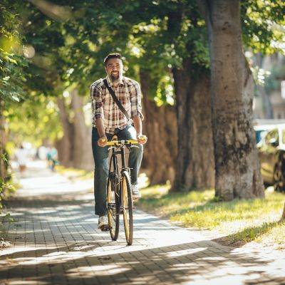 Op de fiets naar het werk: gezond én filevrij!